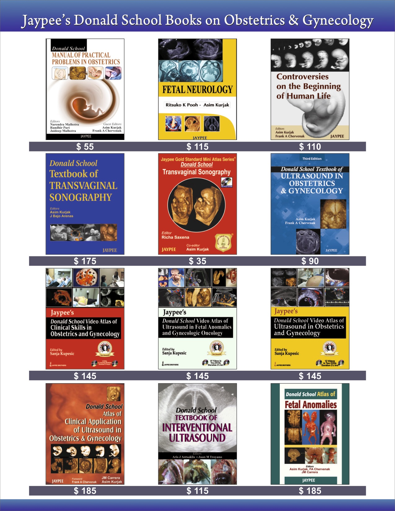 Ina Donald School Books from Jaypee 2