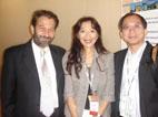 K. Nicolaides先生、夫律子、TK Lau先生